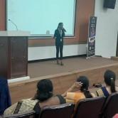 Orientation program at MOP Vaishnav College for Women