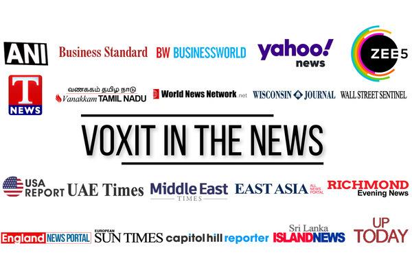 Press Release Coverage Report – Voxit